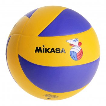 Мяч волейбольный mikasa mva 380k, р. 5, сине-желтый