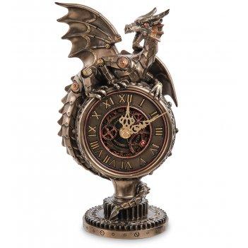 Ws-1071 часы настольные в стиле стимпанк «дракон»