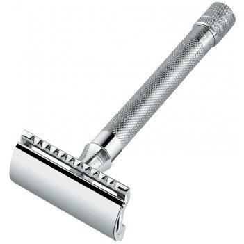 Станок т- образный для бритья merkur хромированный, с удлиненной ручкой, л