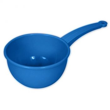 Ковш синий детский 053м