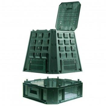 Компостер, 850 л, пластик, зелёный