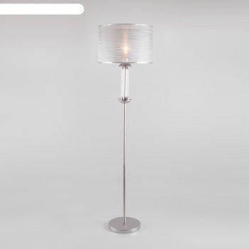 Торшер licata, 1x60вт e27, цвет серебро
