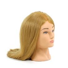 Голова-манекен тренировочная dewal 50-60 см, протеиновые волосы
