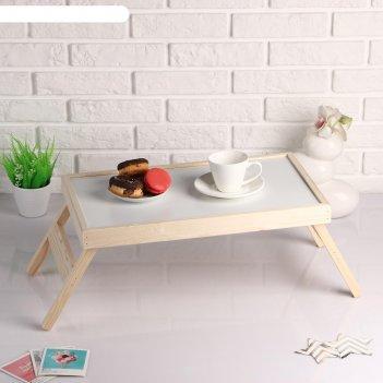 Столик-поднос для завтрака руссо, липа 50x30 см