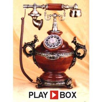 Ретро-телефон playbox (305х235х415 мм) pb-501-a