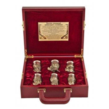 Подарочный набор охотничий в кейсе, малый арт. пно-54