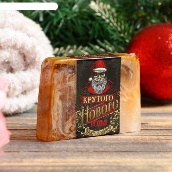 Мыло для бани и сауны крутого нового года древесный, 100 г