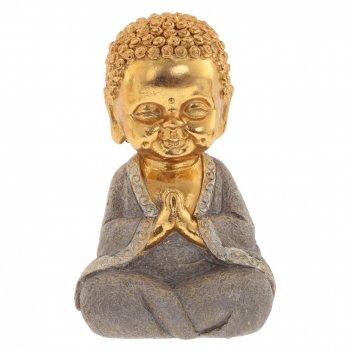 Фигурка декоративная будда, l11 w9 h17 см