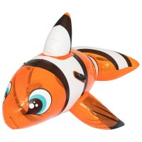 Игрушка надувная для плавания рыба-клоун с ручками 157х94 см, от 3-х лет (