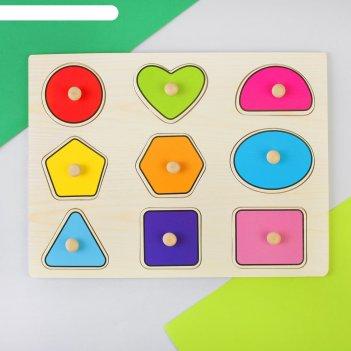 Рамка-вкладыш цвета и формы