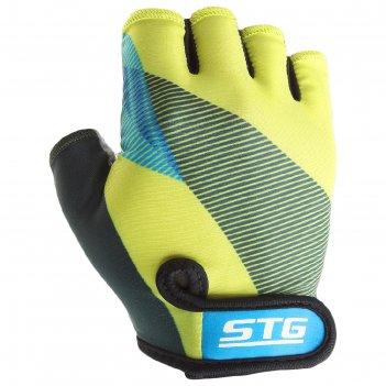 Перчатки велосипедные stg х87910, размер s