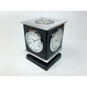 Прибор настольный (часы, термометр, гидрометр, компас)