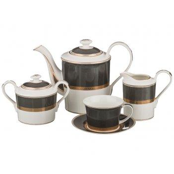 Чайный сервиз на 6 персон 15 пр.1400/250/400/500 м...