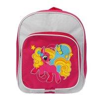 Рюкзак малый, 1 отдел, 1 наружный карман, розово-белый