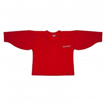 Джемпер вратаря тренировочный efsi, размер 52, цвет красный