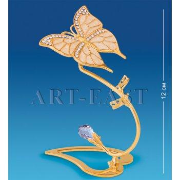 Ar-4008 композиция бабочка со стразами (юнион)