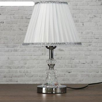 Лампа настольная е27 220в чистота низ с подсветкой 38х25х25 см