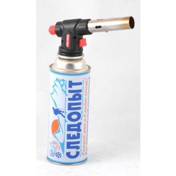 Горелка газовая с пьезоэлектрическим розжигом следопыт gtp-n01