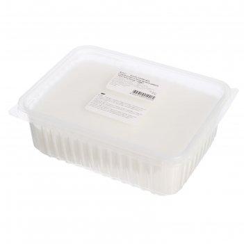 Основа белая для глицеринового мыла ручной работы кристалл белая, 1 кг