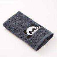 Полотенце экономь и я «панда» 30х60 см
