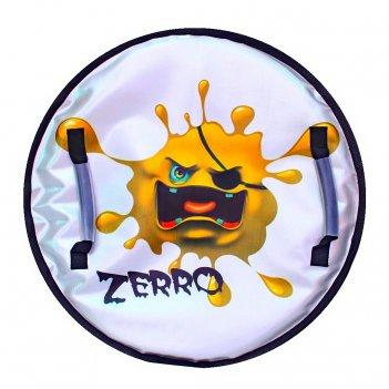 """Ледянка """"монстрик"""" с пластиковым дном zerro желтый, 50 см"""