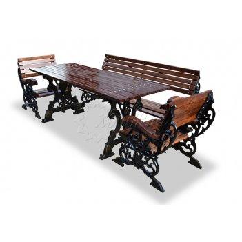 Комплект садовой мебели «флора» 1,5 м