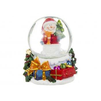 Фигурка новогодний шар 5,5*5*6,5 см.