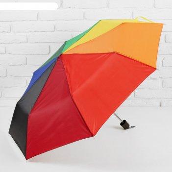 Зонт механический радуга