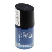 Лак для ногтей rimmel salon pro with lycra  #411 navy seal