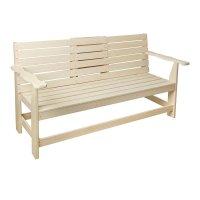 Скамейка с выдвижным столиком,липа 1400*600*900