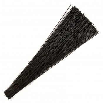 Проволока каркасная 2 мм х 45 см, 2 кг, цвет чёрный