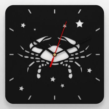Часы со знаком зодиака рак
