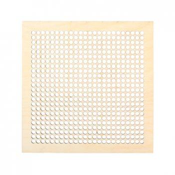 Декоративная плитка квадрат с перфорацией для вышивки