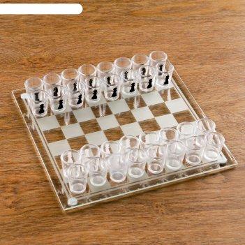 Игра пьяные шахматы, 32 рюмки