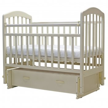 Кроватка детская «лира-7», универсальный маятник, ящик, размер 119 х 60 см