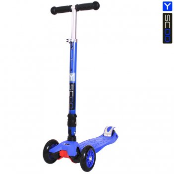 Самокат y-scoo 35 maxi fix simple dark blue