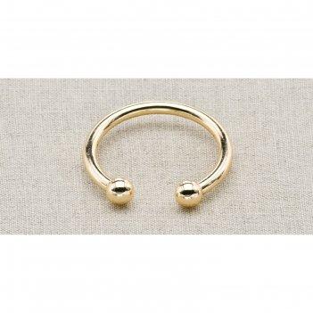 Пуговица металлическая, цвет золото (пм27)