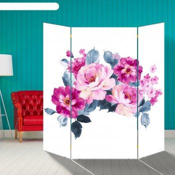 Ширма цветы, 160 x 160 см