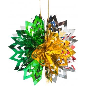 Декоративное изделие подвес шар  20*10 см.
