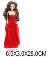 Кукла красотка с аксес-ми 29см, пакет.