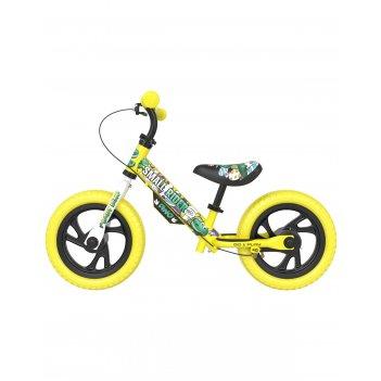 Детский беговел small rider motors (cartoons eva, желтый)