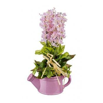Изделие декоративное цветы 20*11 см. высота=34 см. без упаковки (мал=6шт./