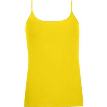 Топ на бретельках joy 160 лимонно-желтый