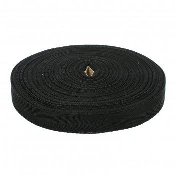 Лента киперная х/б 25мм 50 м, цвет черный