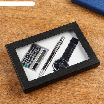 Набор подарочный 3в1 (ручка, калькулятор, часы)