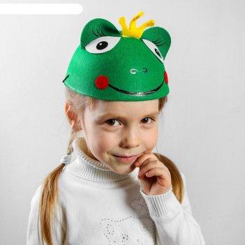Шляпа карнавальная царевна-лягушка