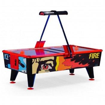 Аэрохоккей «ice & fire» 8 ф (купюроприемник)