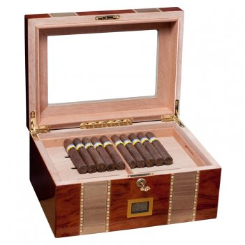 Afn-h101d  хьюмидор на 100 сигар с цифровым гигрометром