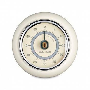 Таймер кухонный на 60 минут, размер: 7,5 х 3 см, материал: металл, цвет: к