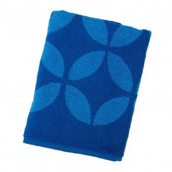 Полотенце махровое sea color пл-1202-03090, 100х150,цв.10000, синий, хл.10